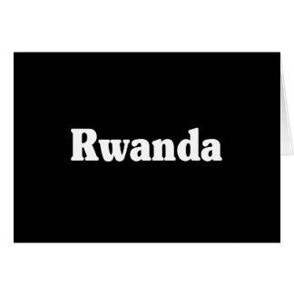 Rwanda Cards