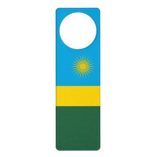 Rwanda Flag Door Hanger