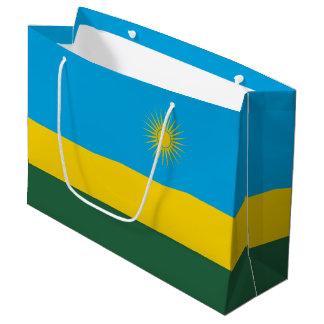 Rwanda Flag Large Gift Bag