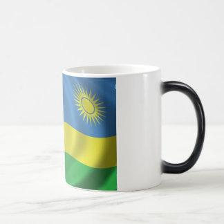 Rwanda Flag Magic Mug