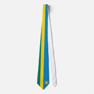 Rwanda Flag Tie