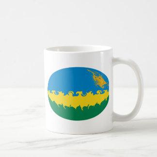 Rwanda Gnarly Flag Mug