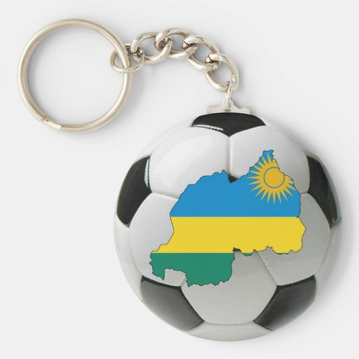 Rwanda national team keychains