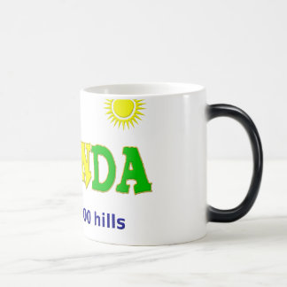 Rwanda the land of 1000 hills magic mug