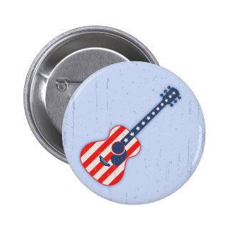 RWB Acoustic 6 Cm Round Badge
