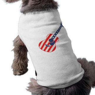 RWB Acoustic Sleeveless Dog Shirt