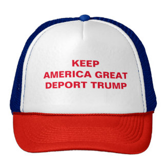 RWB Anti-Trump Hat