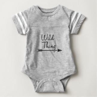 RWT matchies arrow black Baby Bodysuit