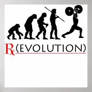 Rx Evolution Chart Poster Print