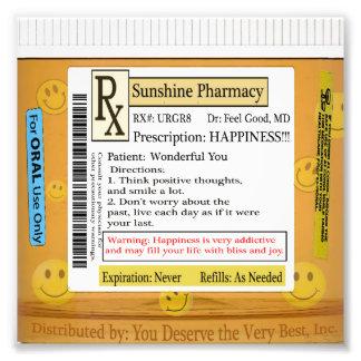 RX Prescription for Happiness Photo