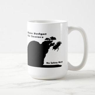 Ryan Budget For Seniors Classic White Coffee Mug