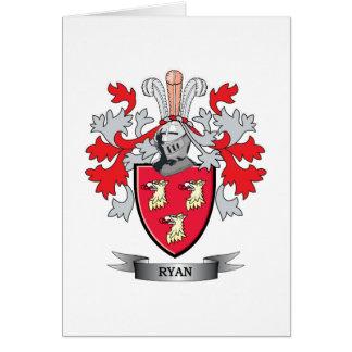 Ryan Coat of Arms Card