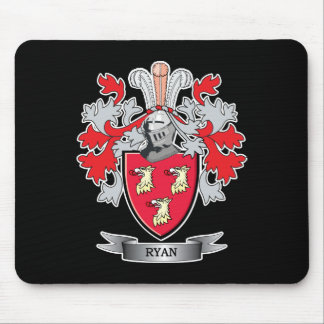 Ryan Coat of Arms Mouse Pad