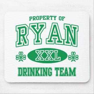 Ryan Irish Drinking Team Mouse Pads