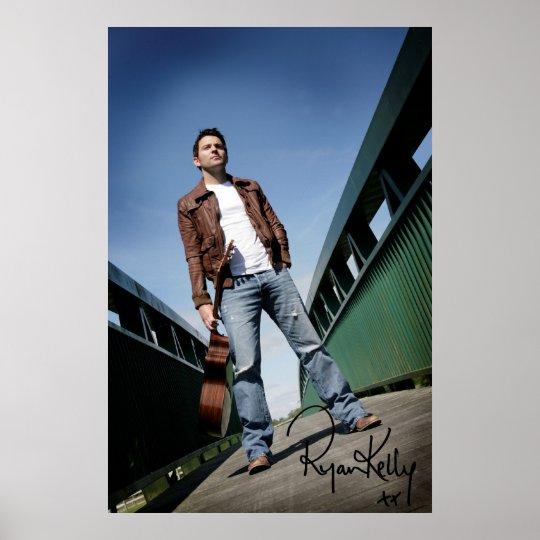 "Ryan Kelly Music - Poster - Bridge -""Signed"""