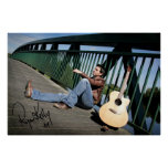 Ryan Kelly Music - Poster - Guitar Signed