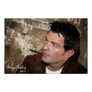 "Ryan Kelly Music - Poster- Leather Jacket-""Signed"" Poster"