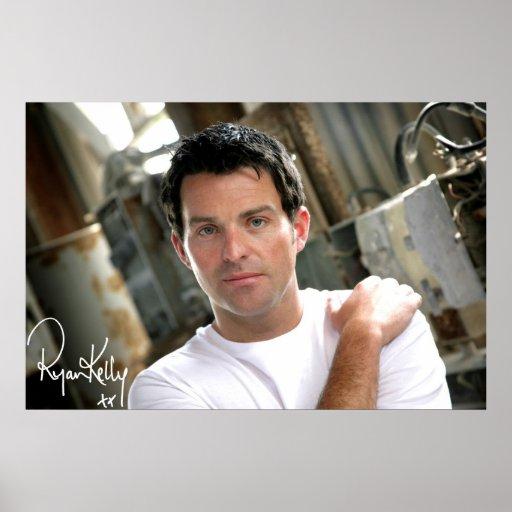 "Ryan Kelly Music - Poster- Plain White T ""Signed"" Poster"