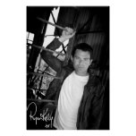 "Ryan Kelly Music - Poster ""signed"" - Ladder"