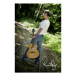 "Ryan Kelly Music - Poster ""signed"" - Tracks"