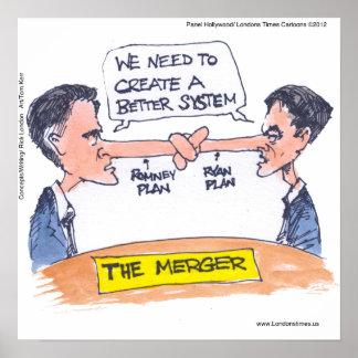 Ryan Romney Pinocchio The Merger Poster