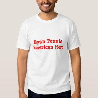 Ryan Tennis American Hero Tshirts
