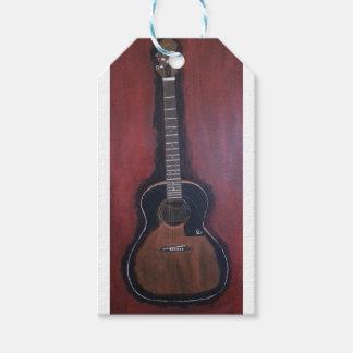 Ryan's Guitar Gift Tags