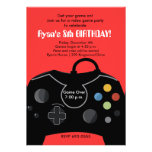 RYAN'S VIDEO GAME PARTY PERSONALISED ANNOUNCEMENT