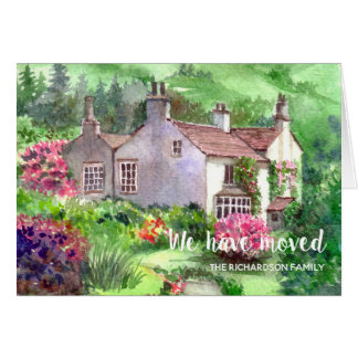 Rydal Mount New Home We Have Moved Card