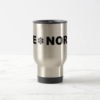 Rye North  stainless steel travel coffee mug
