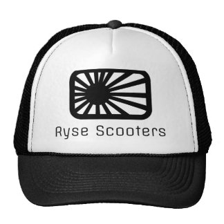 Ryse Trucker Hat (Black Print)