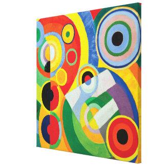 Rythme Joie de Vivre by Robert Delaunay Canvas Print