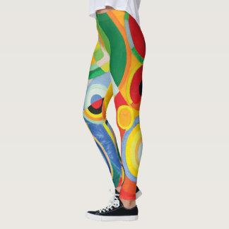 Rythme Joie de Vivre by Robert Delaunay Leggings