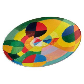 Rythme, Joie de Vivre by Robert Delaunay Plate