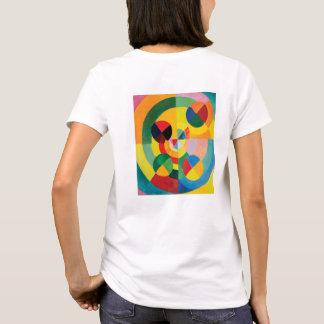 Rythme, Joie de Vivre by Robert Delaunay T-Shirt