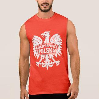 """""""Rzeczpospolita Polska"""" Polish Eagle Sleeveless Shirt"""