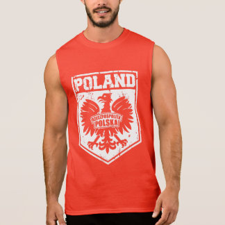 """Rzeczpospolita Polska"" Republic of Poland Eagle Sleeveless Shirt"