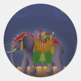 S001 Elephant Sticker
