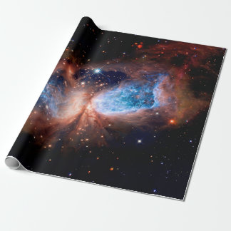 S106 Star Forming Region - NASA Hubble Space Photo Wrapping Paper