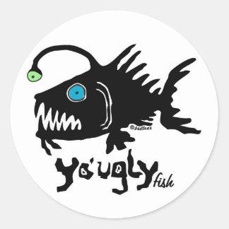 S106 - The Yo' Ugly Fish Sticker