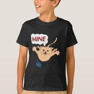 s11 Cat Pouncing on Hanukkah Dradle T-Shirt
