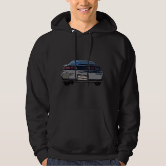 S14 Rear Hooded Sweatshirt DARK