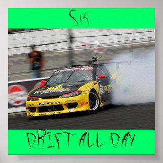 S15, DRIFT ALL DAY POSTER
