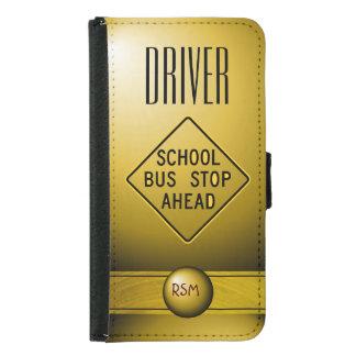 S5 Driver monogrammed Samsung Galaxy S5 Wallet Case