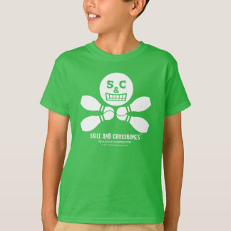 S&C Bowling 1 Kids on Dark Apparel T-Shirt
