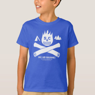 S&C Camping Kids on Dark Apparel T-Shirt