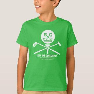 S&C Golf Kids on Dark Apparel T-shirts