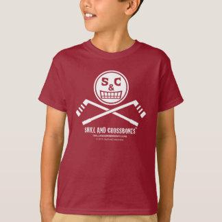 S&C Hockey Kids on Dark Apparel Tee Shirts