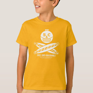 S&C Hotdog Kids on Dark Apparel T Shirt