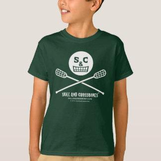 S&C Lacrosse Kids on Dark Apparel T-Shirt